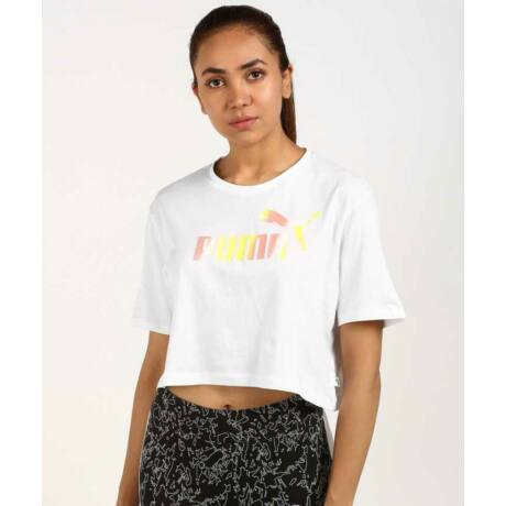 Puma Essentials+ Cropped Tee Női póló