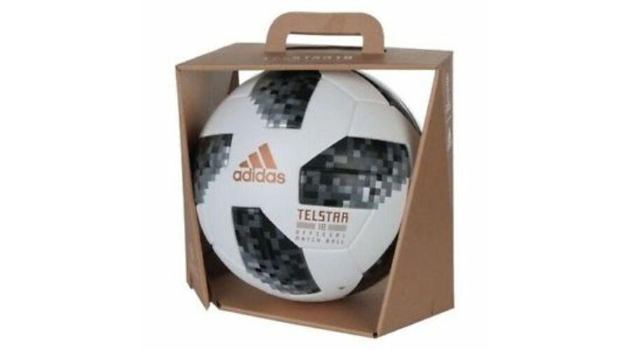 9f9ba8863c Adidas World Cup 2018 Official Match Ball Telstar Russia focilabda ...